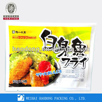 Food Plastic Bag For Chicken with Custom printing