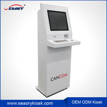 Indoor self service cinema ticket printing/dispenser vending kiosk
