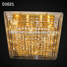 crystal pendant lamps jigsaw lamp decorative ceiling light