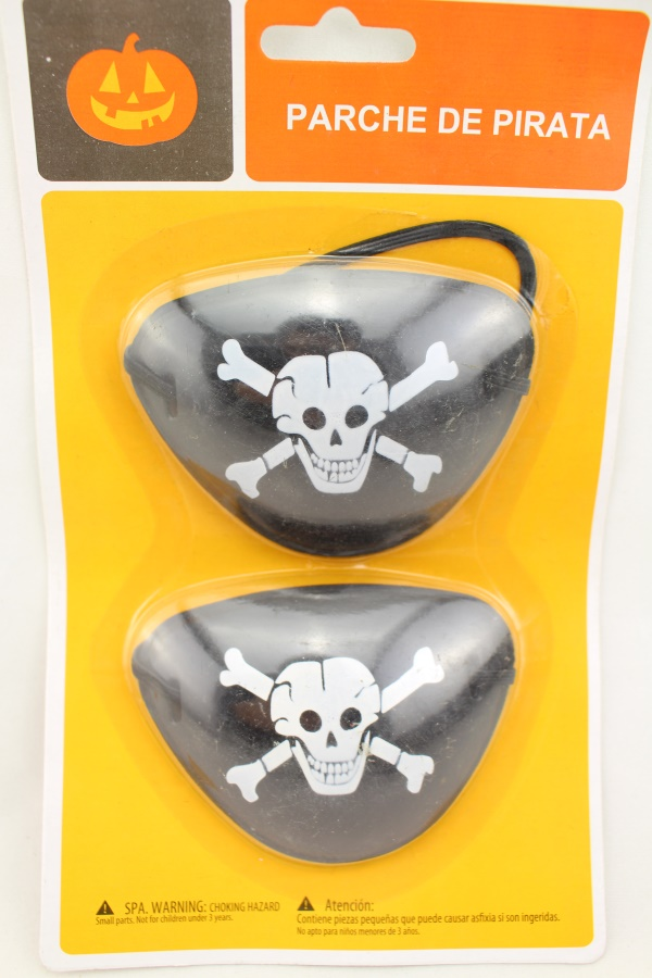 halloween pirate eye patch Earring set