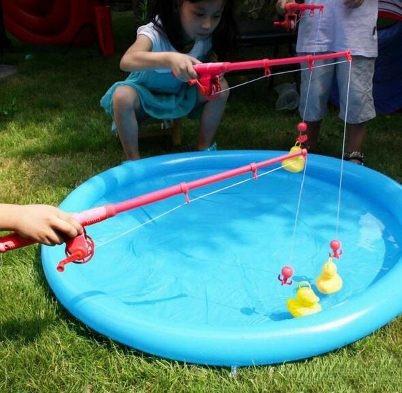 Catch A Duck <strong>Game</strong> With Inflatable Mini Pool Fun Carnival & Birthday Party Duck Pond Fishing duck <strong>Game</strong>