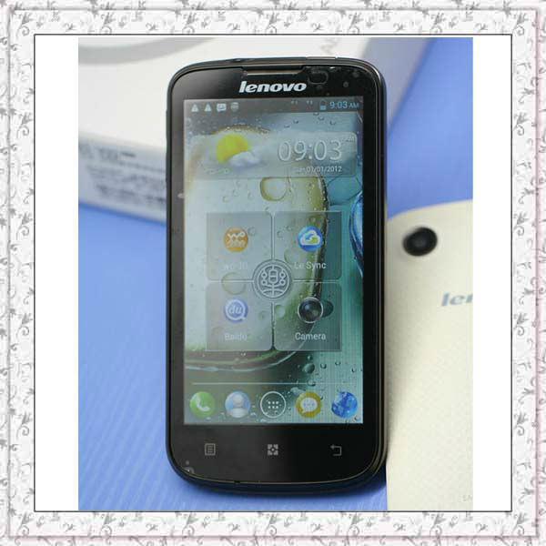 Original Lenovo A800 Russian Ukrainian Hebrew Polish Arabic Turkish OS 4.0 MTK6577 4.5'' IPS 5.0MP Single Camera Mobile Phone