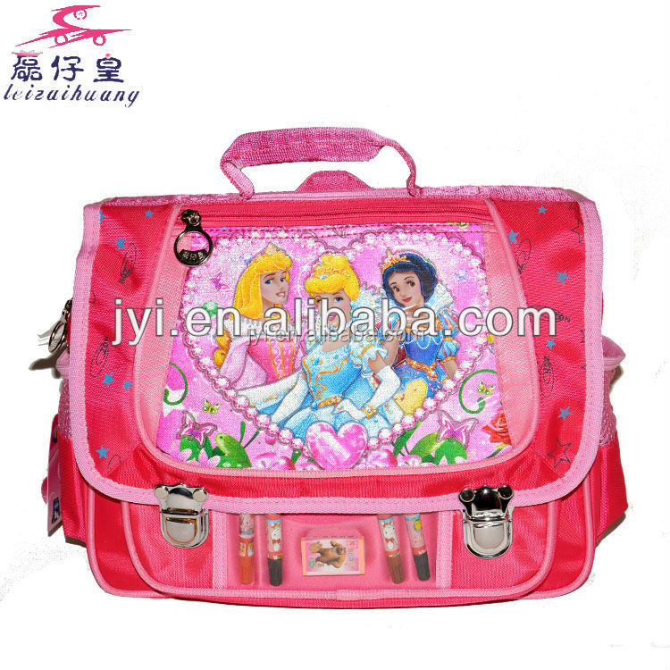 2014 made in china supplier new products school 6-12 years old satchel