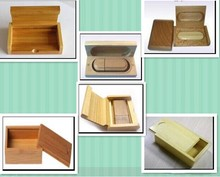 Natural wooden usb flash drives, wholesale wooden usb stick with wooden box