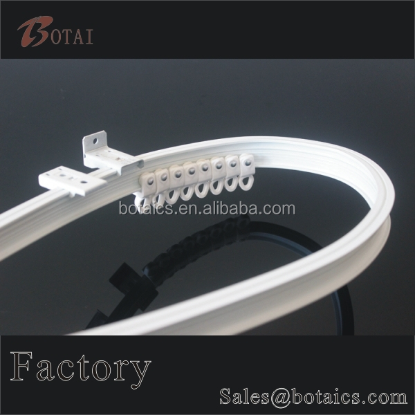 clear plastic curtain,ceiling mounted curtain track system,ceiling fixed curtain rails