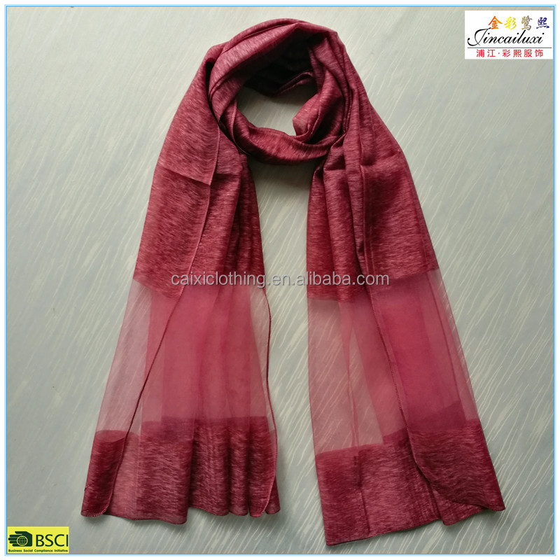 New Arrival 100% silk feeling pakistani scarf hijab