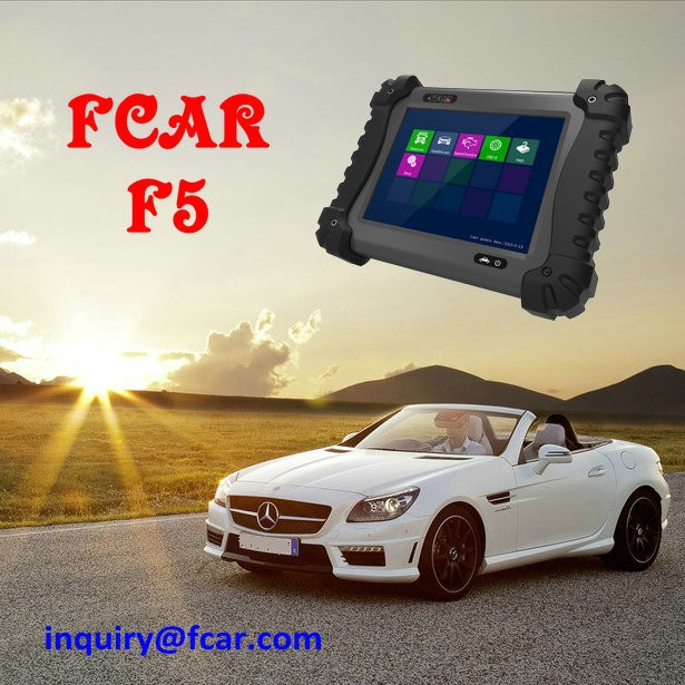 FCAR F5-G Vehicle Diagnostic Tool, 12v passenger and light commercial car, 24v heavy duty truck, diesel engine, abs