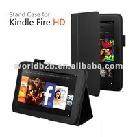 Newest Leather case with stand/elastic for all-new Kindle Fire HD 7 , 8.9 inch