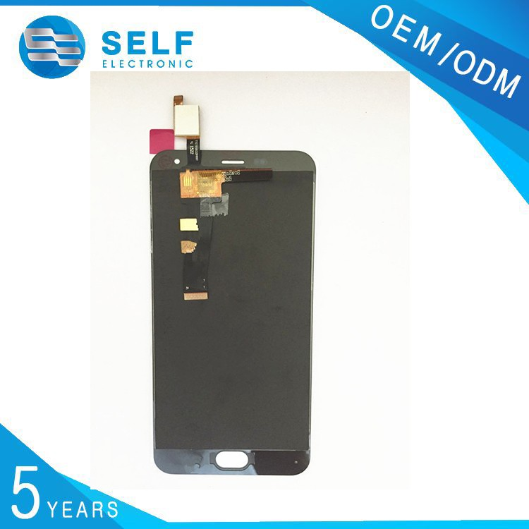 low price china mobile phone original for Meizu M2 mini LCD assembly with Touch Screen