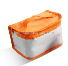 Folding Fresh Keeping Cooler Bag Lunch Bag For Food Fruit Seafood Steak Insulation refrigerated cooler bags