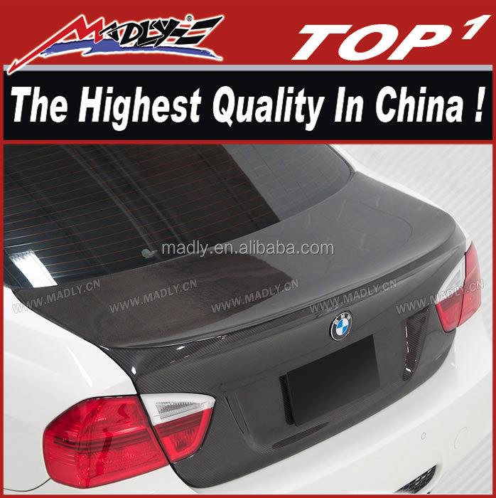 Carbon body kit for 2006-2008 BMW 3 Series M3 E90 4DR Carbon Creations CSL Look Trunk