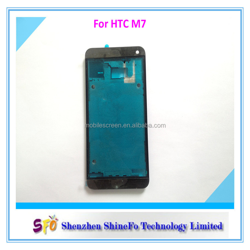 Mobile Phone Part Front Panel For HTC One M7 Accept Paypal Escrow