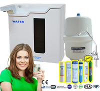 Direct drinking water / RO plant / underground water filter system with multifunctional LED light display 6 stage or 5 stage