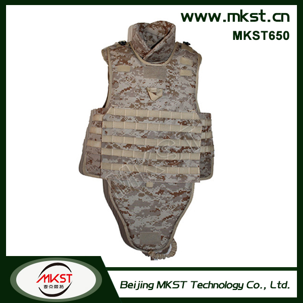 MKST Military Ballistic Bullet Proof Vest Prices Kevlar or PE Army Bulletproof Vest