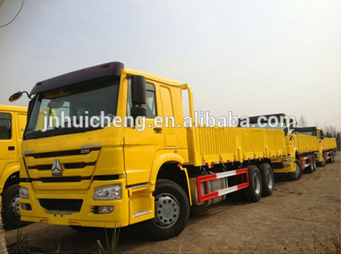 China Sinotruck HOWO 6X4 Lorry mini Van Cargo Truck Price for sale