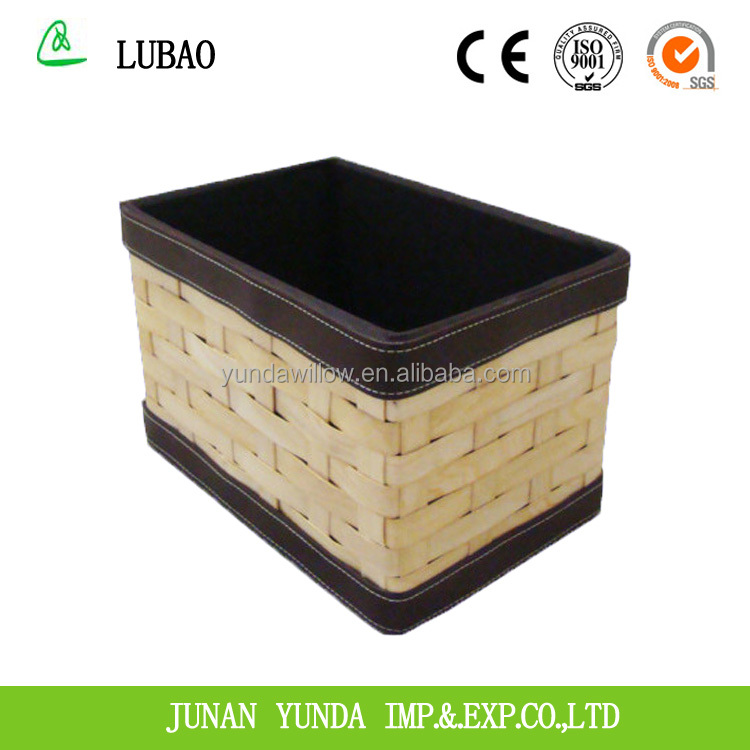 Environmental protection excellent wooden wine storage basket