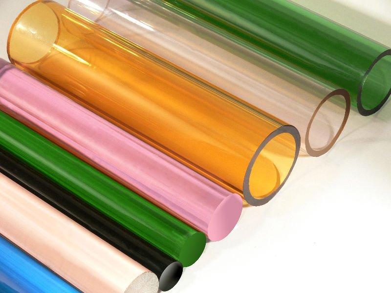 Colored Borosilicate Glass Tubing