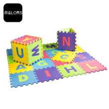 Melors Letters Puzzle EVA Kid Set Foam Baby Toys Mat For Playroom