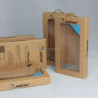 Kraft Paper Cell Phone Case Packaging