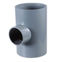 UPVC Pipe and fittings PVC tee pipe ruducing