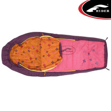 Lightweight Compact Travel Camping Outdoor Wholesale Custom Printed Electric Heated Mummy Sleeping Bag