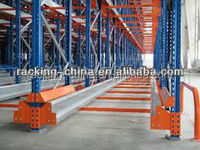 high load capacity shuttle vehicle racking