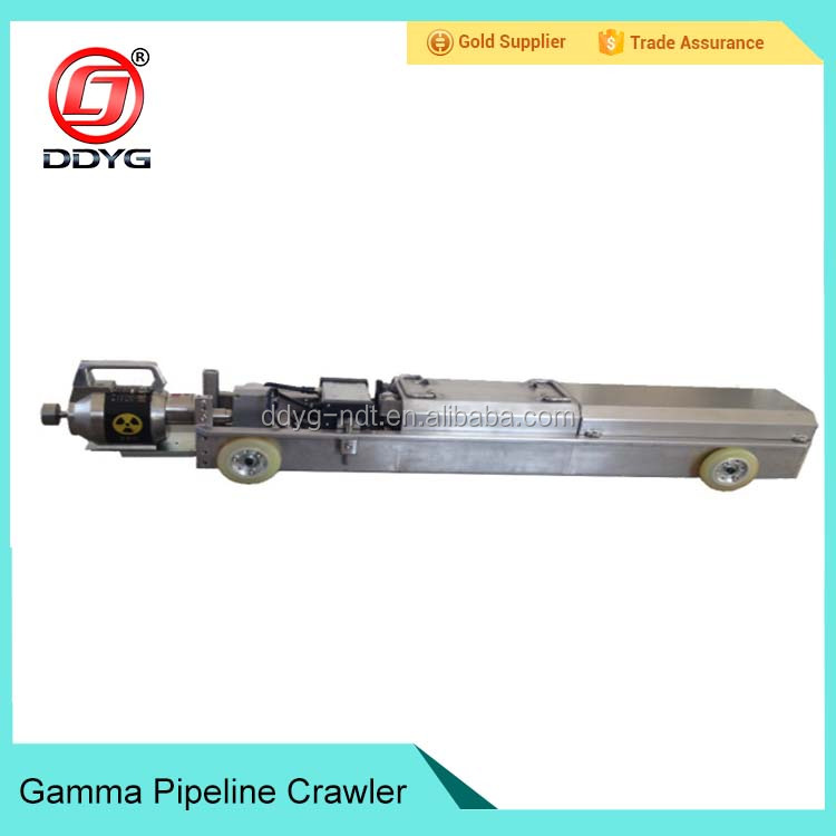 New coming NDT X ray pipeline crawler for machinery