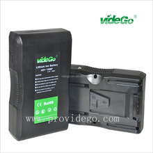 videGo 130Wh pro video rechargeable lith-ion digital video battery for led light