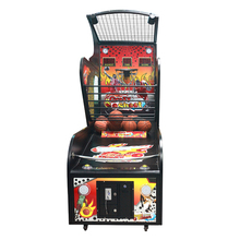 Most popular wholesale coin operated baseketball shooting arcade game machine