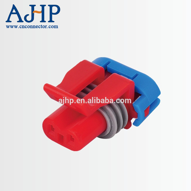 2 pin pa66 auto waterproof connector male and female for delphi