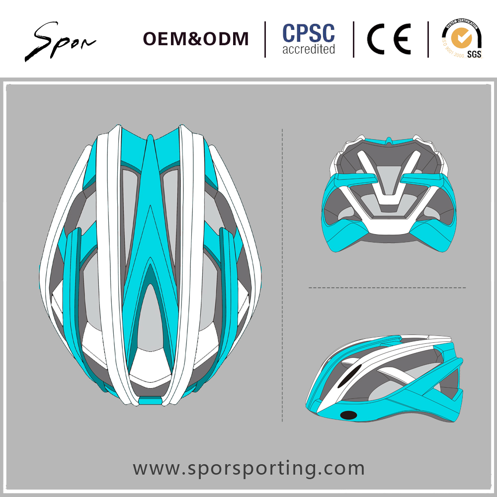 CE certificate EN1078 fashion in-mold adult road safety bicycle helmets for bike cycling helmet CPSC road helmet