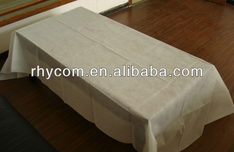 disposable table cloth for hospital
