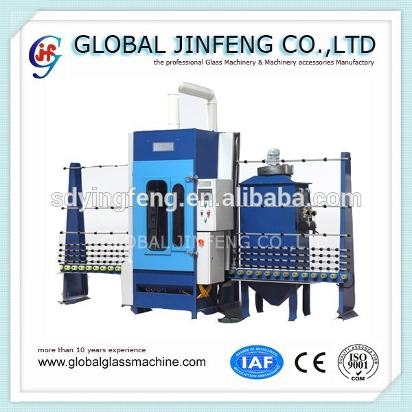 JFP2500 PLC Automatic Glass Sandblasting Machine
