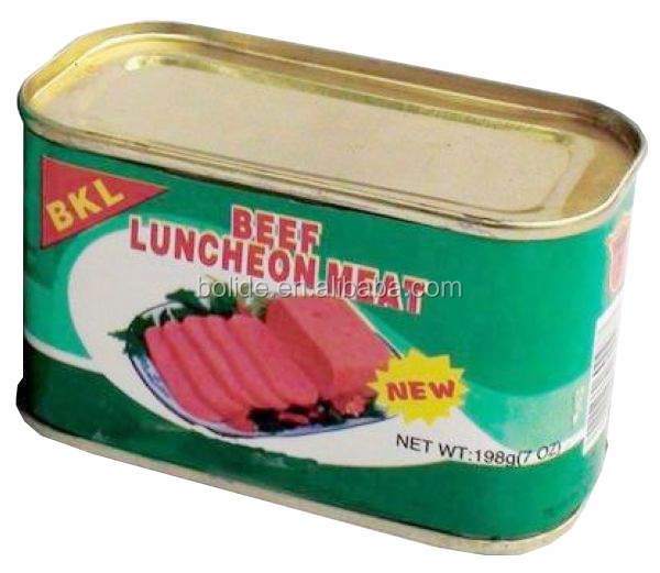 canned beef luncheon meat OEM