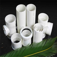 Construction or real estate plastic profiles pvc pipe for water supply