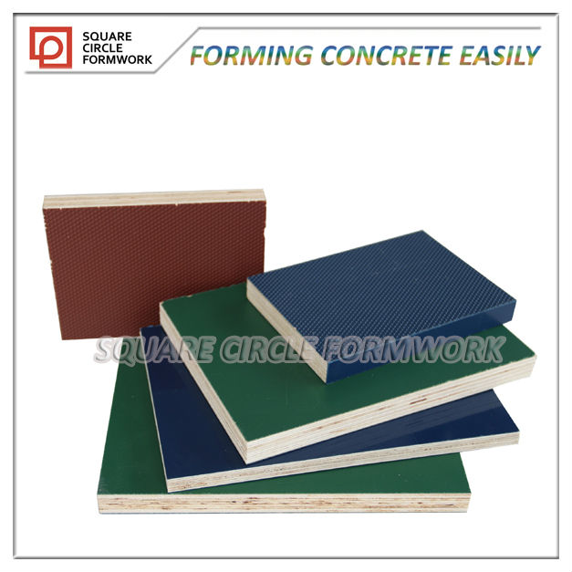 PP plastic plywood formwork panel for concrete