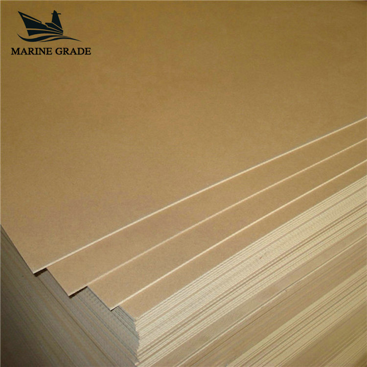 Manufacturer Moisture-Proof Indoor furniture Veneer mdf board wood price