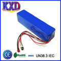KXD 6P10S rechargeable li-ion 36v 12ah battery for ebike