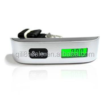 Digital protable travel luggage scale with digital load indicator