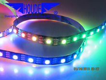 WS2812/2801B,magic color ,RGBW,30/60/144leds/m DC5V digital RGB, addressable led strip