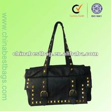 2012 new design ladies PU leather hand bags