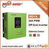 Low frequency pure sine solar inverter series 30A PWM controller inside PV2000 series 24V 1440W from Mustsolar solar system