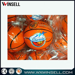 custom pu foam mini basketball stress ball