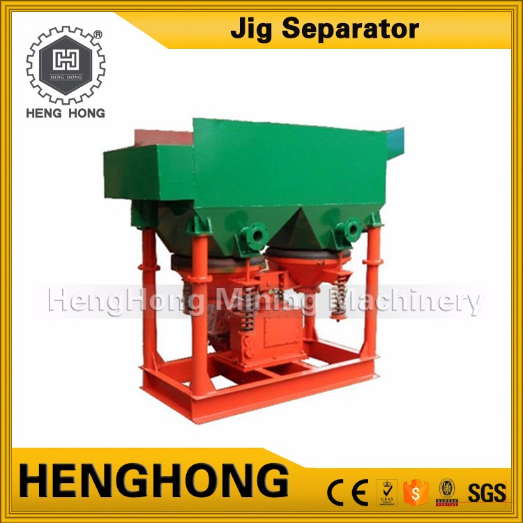 Henghong 15tph lead zinc ore beneficiation plant tin jig plant