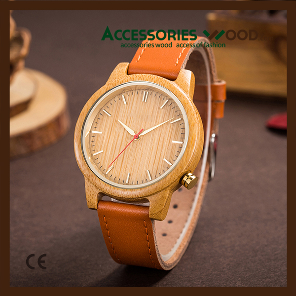 Wholesale Fashion Wood Watch Custom Logo Wrist Watch Women & Men Watch
