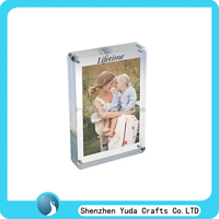 factory price acrylic photo frame factory wholesale pleixglass magnetic frame factory custom mini magnet photo frame