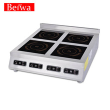 4 plate induction stove for commercial catering equipment