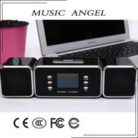 gadgets gifts dropship mp3 vibration speaker music wall clock