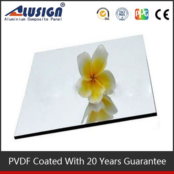 Alusign plastic panel popular aluminum roofing acp acrylic wall partition