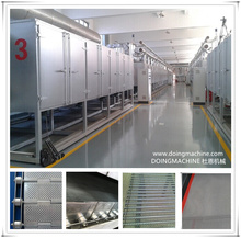 Steel mesh conveyor belt dryer